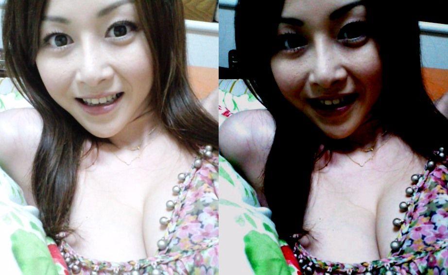 おっぱいポロリの乳首ポロリ画像