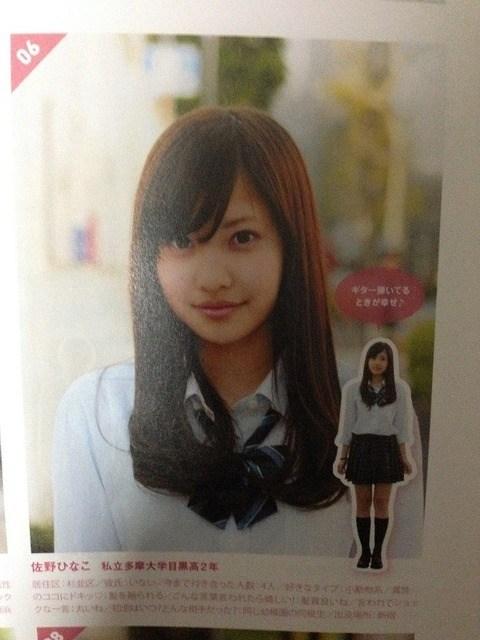 佐野ひなこの学生の生エロ画像