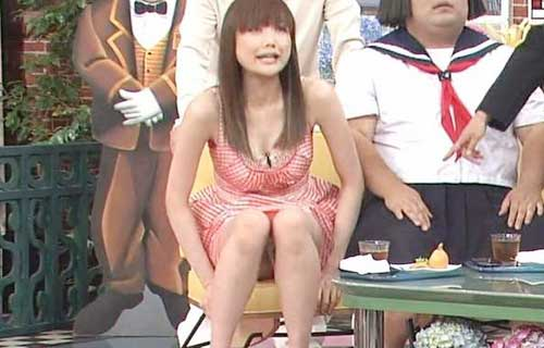 佐藤江梨子の乳首