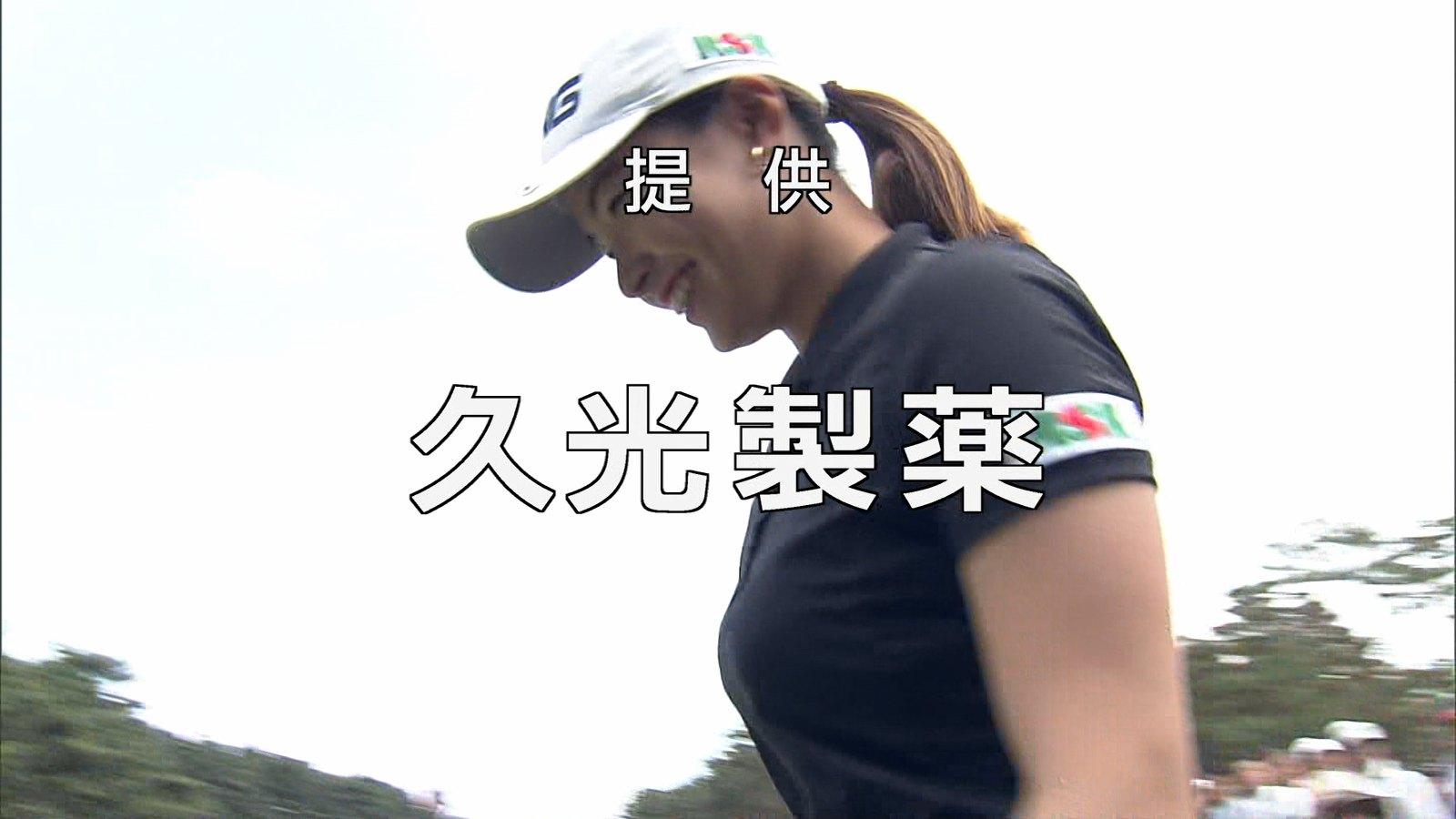 渋野日向子のハプニングエロ画像