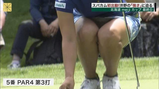 渋野日向子のヌード画像