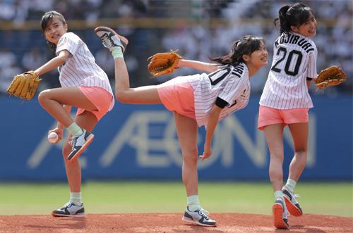 小島瑠璃子始球式のお宝エロ画像