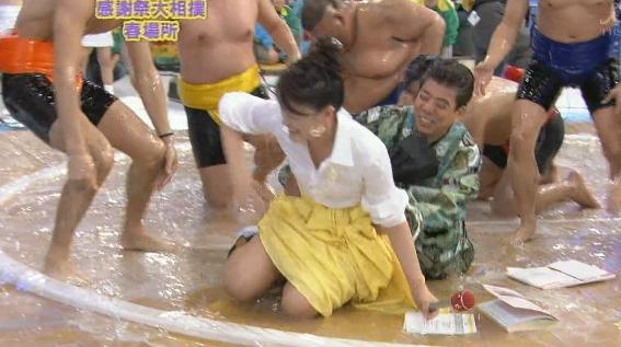 島崎和歌子のパンチラエロ画像
