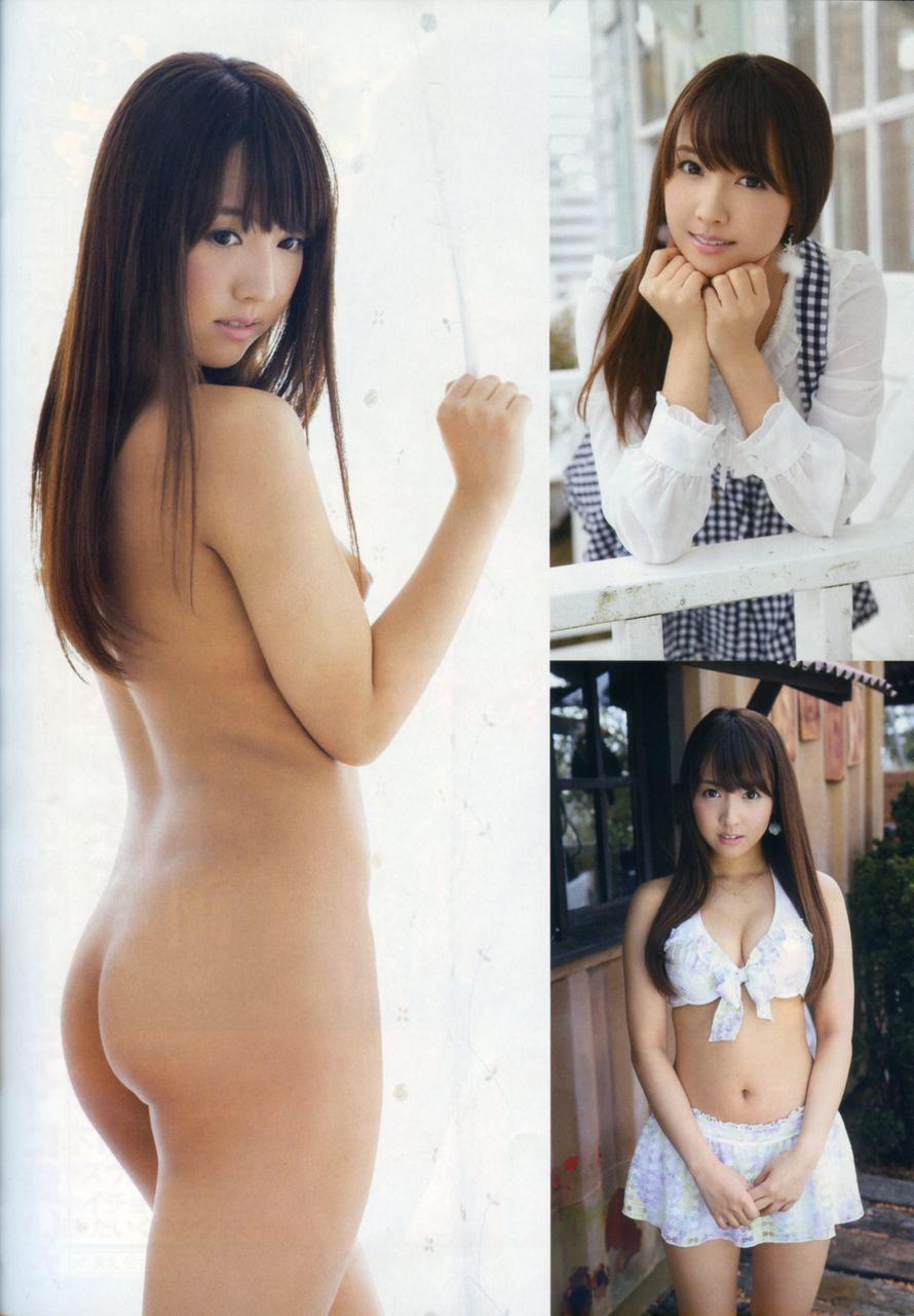 SKE48鬼頭桃菜のおっぱい丸出しで全裸でエロ画像