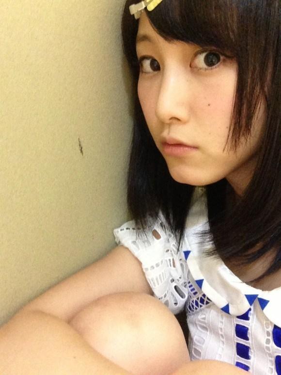 SKE48松井玲奈のおっぱい丸出しエロ画像