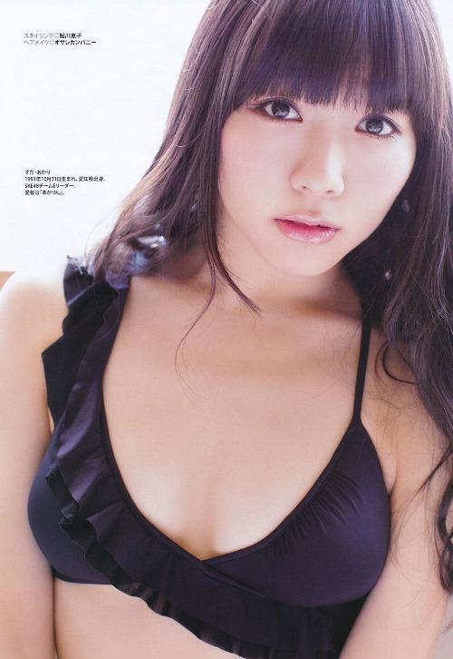 須田亜香里のパンチラエロ画像