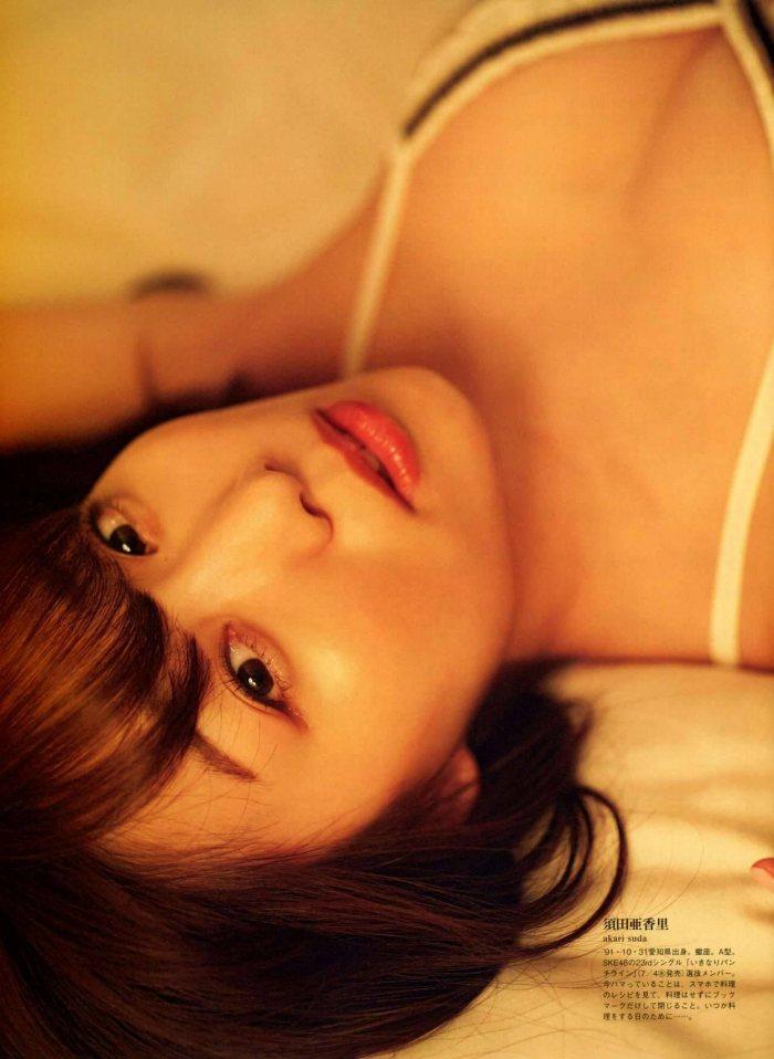 須田亜香里モロにマンスジやハミマンエロGIF画像