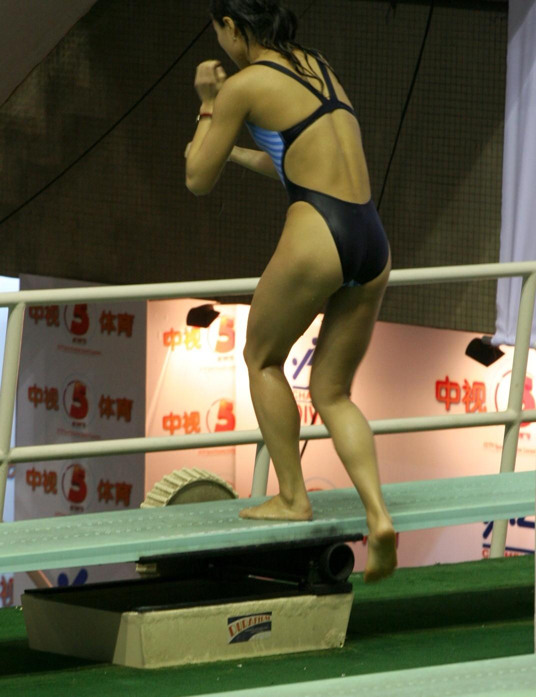 お宝な水泳競泳シンクロ放送事故