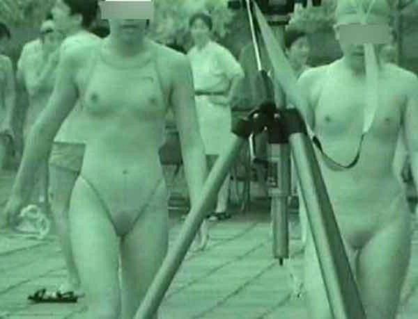 水泳競泳シンクロ赤外線のアイコラ