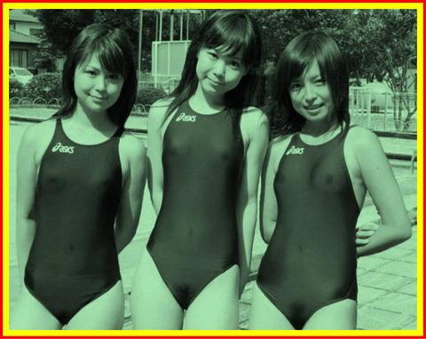 水泳競泳シンクロモロにマンスジやハミマンエロGIF画像