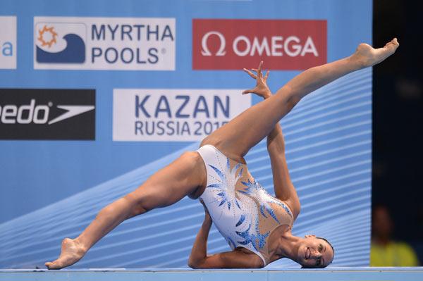 水泳競泳シンクロの下着エロ画像