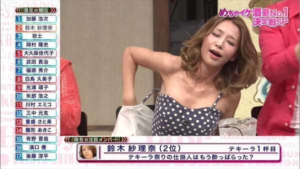 鈴木紗理奈のアイコラ