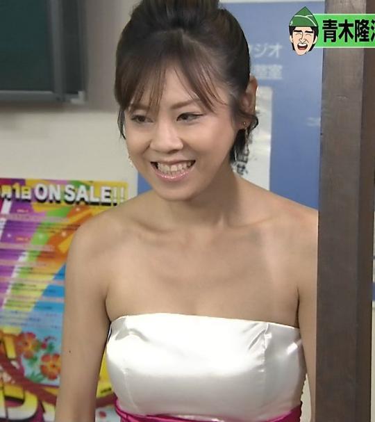 高橋真麻の乳首ポロリしたヌードエロ画像や胸チラ