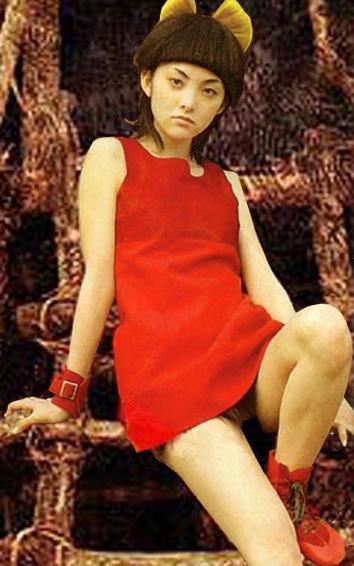 田中麗奈のパンチラ画像