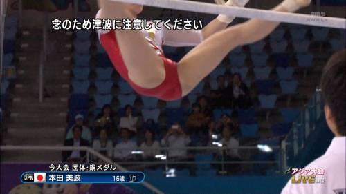 体操・新体操(田中理恵・畠山愛理)のパンチラ画像