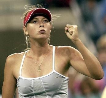 シャラポワのテニスのエロ画像
