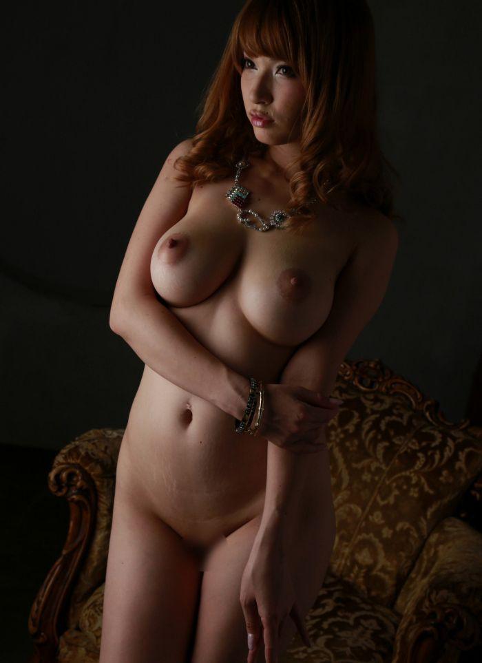 ティアの無修正全裸ヌード