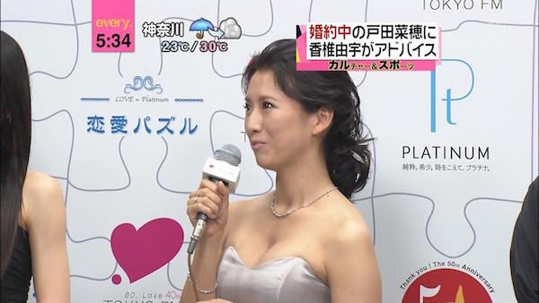 戸田菜穂のおっぱいエロ画像