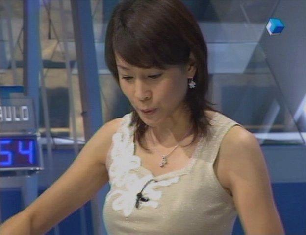内田恭子の乳首ポロリ画像