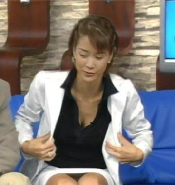 内田恭子のおっぱい乳揉みエロ画像