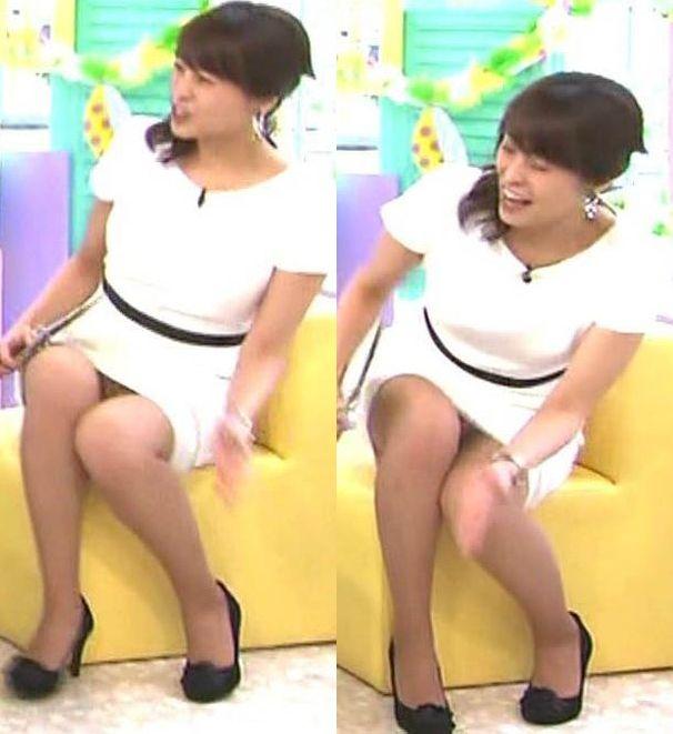 上田まりえの乳首ポロリ画像