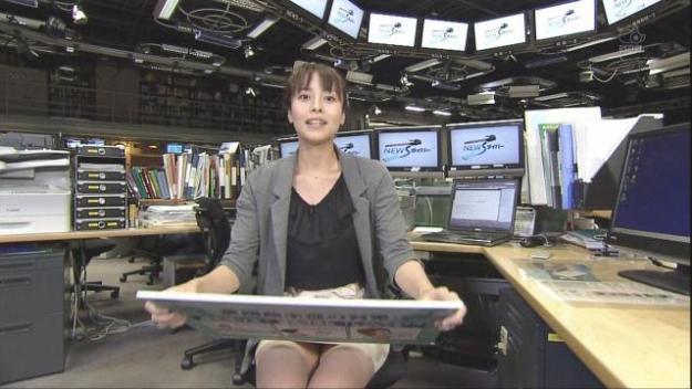 上田まりえの放送事故お宝エロ画像