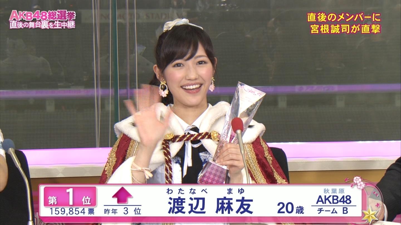 AKB48渡辺麻友のAVエロ画像