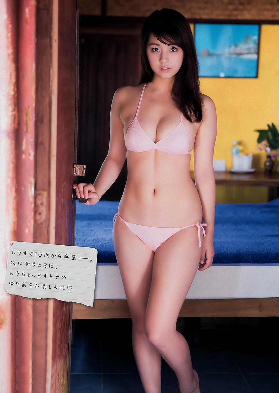 柳ゆり菜のお宝ヌードエロ画像