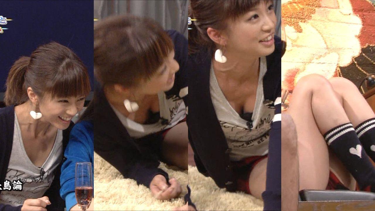 安田美沙子のセクシー水着エロ画像が放送事故