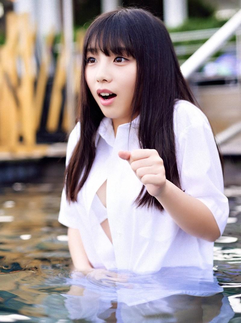 与田祐希の放送事故お宝エロ画像