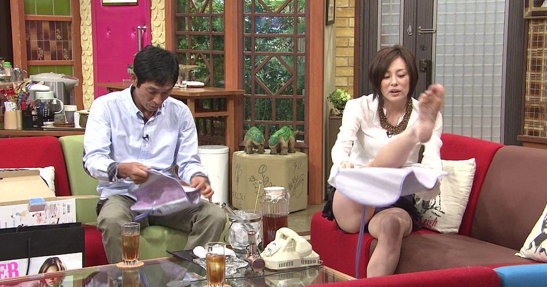 米倉涼子の下着や太ももエロ画像