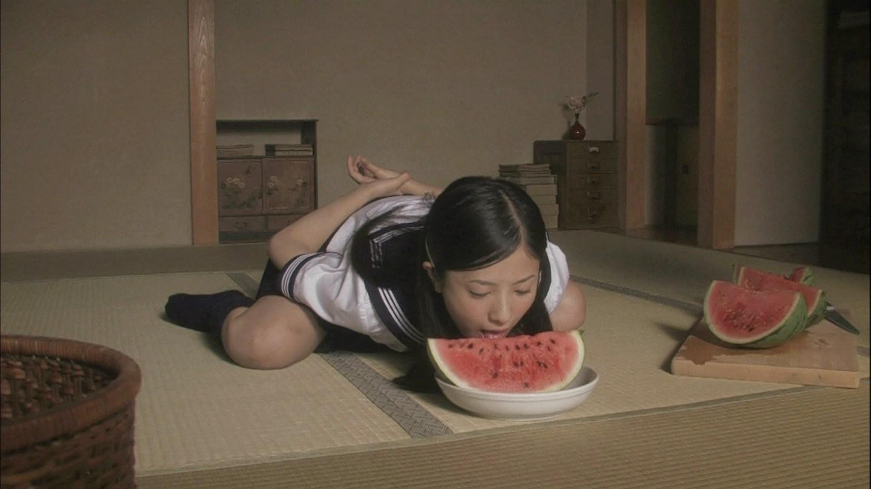 吉高由里子モロに征服 スイカ