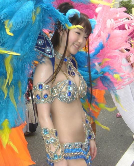 サンバカーニバルのお宝な全裸