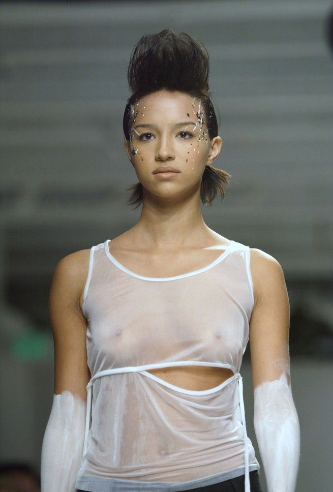 ファッションショーのエロ画像