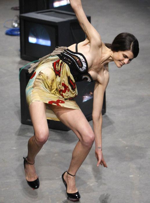 ファッションショーのお宝ヌードエロ画像