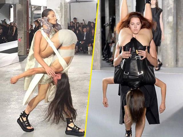 ファッションショーのアイコラ
