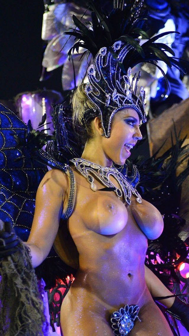 サンバはリオのカーニバルのエロ画像や露出のまとめ